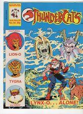 THUNDERCATS Comic Magazine Vintage Issue Number 86 1988 Marvel