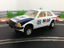 Scalextric Car Ford Escort XR3i White C376 New Rear Tyres