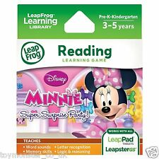 LeapFrog LeapPad / Leapster Explorer Game Minnie's Bowtique Super Surprise Party