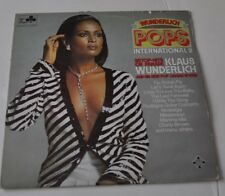 KLAUS WUNDERLICH: Pops International 2 LP Record sexy Cheesecake Cover