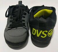 DVS Comanche Black Gray Skateboarding Low Top Shoes Sneakers Men's Size 10