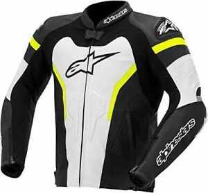 Alpinestars GP Pro Leather Sport Motorcycle / Motorbike Jacket - WBY