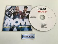 DJ LBR feat Nappy Paco - Move - Promo CD Single - 2009