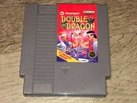 Double Dragon Nintendo Nes Cleaned & Tested Authentic