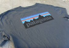 Patagonia Organic cotton short sleeve T-shirt Men's L charcoal