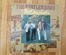 The Statler Brothers - The Originals NM Vinyl LP Ex record Cover SRM-1-5016