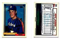 Jeff Juden Signed 1992 Topps #34 Card Houston Astros Auto Autograph
