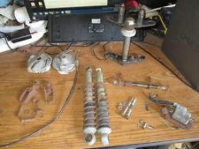 Honda MR50 Mini Elsinore Shocks Triple Tree Front & Rear Brake Hub Etc Parts Lot