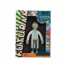FUTURAMA Professor Farnsworth Toy Doll BENDABLE POSABLE bendy