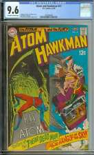 ATOM AND HAWKMAN #41 CGC 9.6 OW/WH PAGES