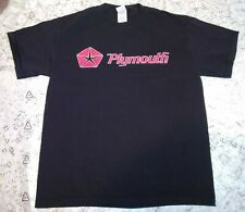 Vintage Plymouth Mopar Muscle Car Shirt Black Medium 2004