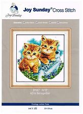 Be Together - Kitten Themed Cross Stich Kit