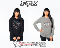 Fox Women's Motocross Black/Heather Graphite Consulted Long Sleeve Shirt TEAMFOX