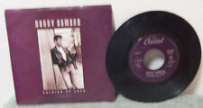 "vintage 45 record Donny Osmond ""Soldier of Love""1989"