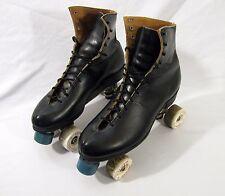 Vintage Riedell Roller Skates w/ RARE White Chicago VANATHANE 77K Wheels Size 10