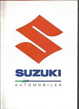 Catalogue brochure Katalog Prospekt SUZUKI CAPUCCINO ANNEE 16 Pages