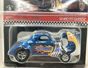 Hot Wheels * RLC * 1941 Willys Gasser* WILD BLUE***Tilt Front** 1:64