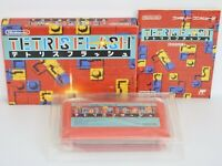 TETRIS FLASH Famicom Nintendo Japan Game fc