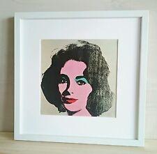 Andy Warhol LYZ TAYLOR Impresión Original Vintage 1971 Edition Tate Gallery