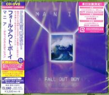 FALL OUT BOY-M A N I A-JAPAN CD+DVD BONUS TRACK Ltd/Ed H40