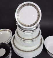 "Set of 6 Royal Tuscan Cascade 6 1/2"" Bread Plates Bone China England"