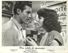 """MARIA FIORE & VICENZO MUSOLINO in """"Due Soldi di Speranza"""" Original Vintage 1952"""