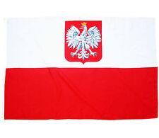 Fahne Polen Adler 90 x 150 cm polnische Flagge Wappen Nationalflagge WM 2018