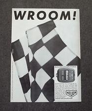 F892 - Advertising Pubblicità - 1983 - HEUER MICROSPLIT 250