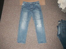 "Bench Asgard Twisted Jeans Waist 30"" Leg 30"" Faded Dark Blue Mens Jeans"