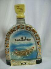 Jim Beam ~ Collectible Whiskey Decanter ~ 1971 London Bridge ~ Arizona