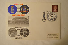 Cricket Collectable - Australian Centennial Tour - Day Cover - Old Trafford