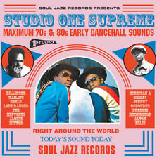 Soul Jazz Records PR - Studio One Supreme MAXIMUM 70s & 80s Early CD