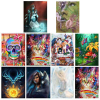 Full Drill 5D DIY Diamond Painting Exaggerated Embroidery Cross Stitch Kit Decor