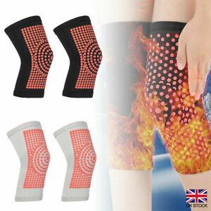 1 Pair Self Heating Support Knee Pads Brace Warm Belt Knee Massager Leg Warmer