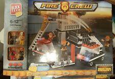Block tech fire crew downtown emergency 309 pcs