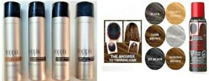 NEW! HAIR THICKENER HAIR SPRAY ON or THINNING HAIR COLOR  --  FREE SHIPPING!
