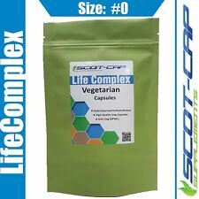 Empty HPMC Capsules, Size 0#, Clear, Vegetarian Halal 100 200 500 1000 2000 5000