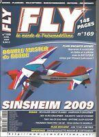 FLY N°169 PLAN : ASK 13 DE 4 METRES / REVOLVER GREAT PLANES / THUNDER TIGER PRO