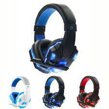 Cuffie Surround Mic per PC AURICOLARE LED STEREO 360 cuffie ps4 xbox gioco