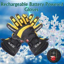 Waterproof Adjustable Battery Powered Duplex Heated Winter Warmer Womens Gloves