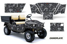 Golf Cart Graphics Kit Decal Sticker Wrap For E-Z-Go Workhorse 96-03 CAMOPLATE S