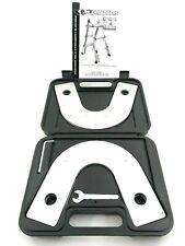 Gorilla scale sicurezza statica Cerniera KIT 4-in - 1 alluminio impalcatura con scala Adattatore