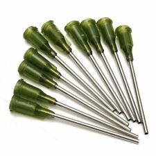 "10pcs Blunt Dispensing Needles Syringe Tip Needle 1.5"" 14 Gauge Lock 38mm"