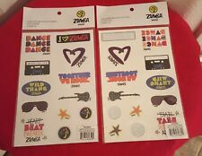 Zumba for Kids Together We Rock Stickers/Tattoos