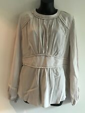 WITCHERY PUTTY GYPSY SHIRT / TUNIC / BLOUSE / TOP SIZE 10 BNWT