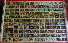 1989 Topps Batman Uncut Trading Card Sheet Picture Card Series 2