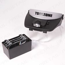 HEADBAND MAGNIFYING LENS & LED LIGHT Repair Jewellery/Watch Loupe Eye Glass/Gem