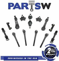 14 Piece Complete Front Suspension Kit For 99-07 Cadillac Chevy Gmc Steering Set