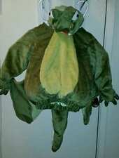 PLUSH GREEN WINGED DRAGON DINO COSTUME 2T-3T HALLOWEEN