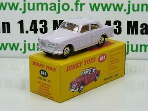 DT38 Voiture réédition DINKY TOYS atlas : 184 Volvo 122S UK